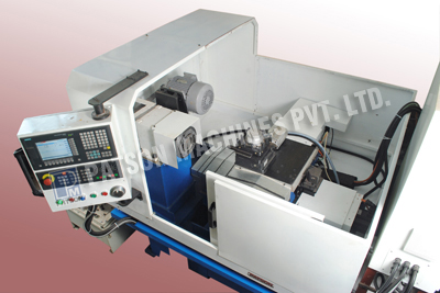 CNC Boring and Teeth Chamfering SPM for Sprocket