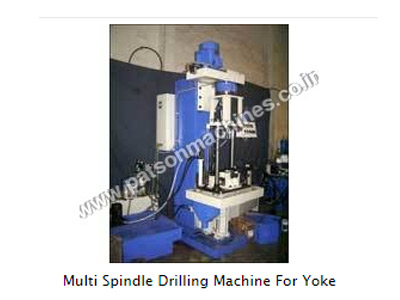 Multi Spindle Drilling Machine For Yoke, Multi Spindle Drilling Machines
